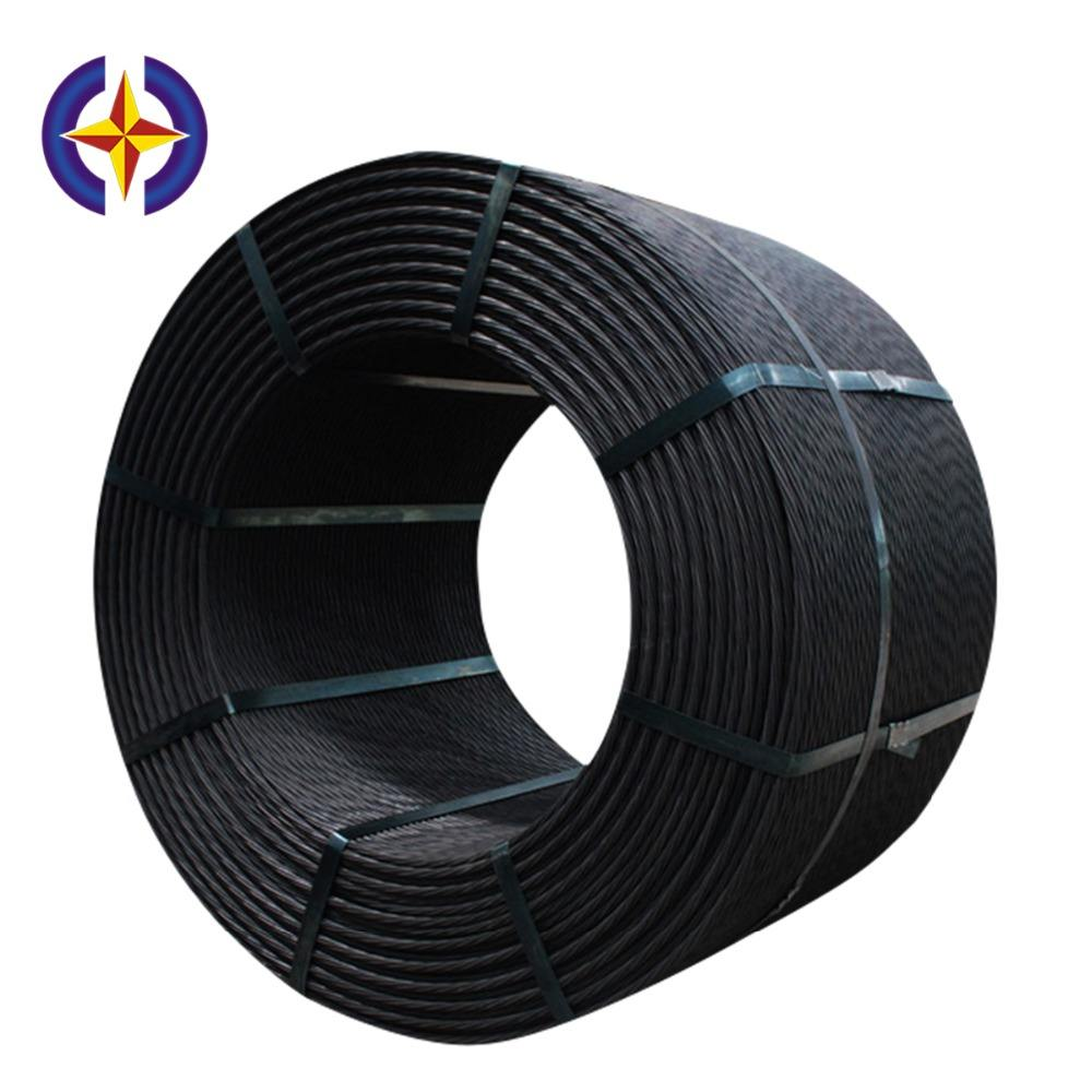 Hengxing Prestressed Concrete 7-Wire Strand 12.7mm Low Relaxation PC Strand Steel Wire