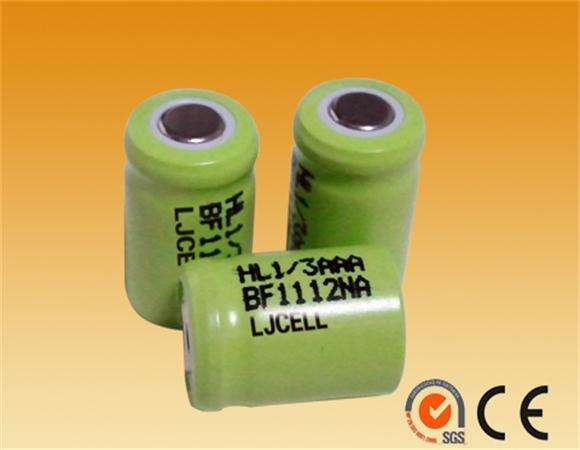 nimh rechargeable battery 1/3AAA Size 1.2v ni-mh 150mah battery