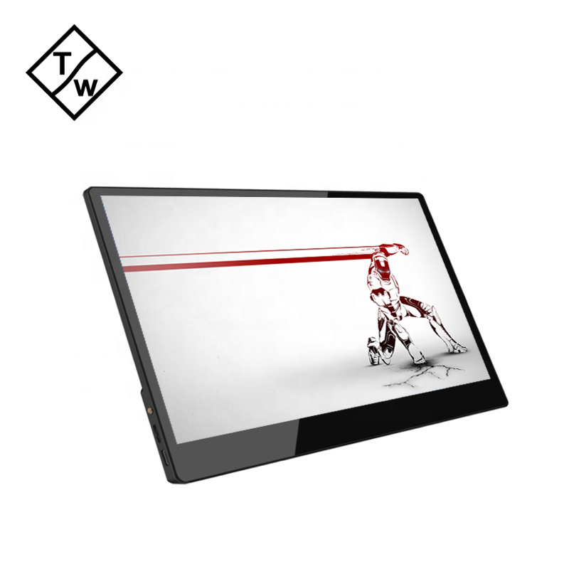 13,3 ''Tragbare Touch-Monitor IPS Panel Typ C HD Port USB Power