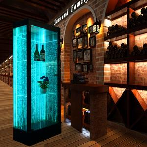 Light up mobili mobile bar whisky bicchiere di vino bevande scaffale angolo liquore display armadi