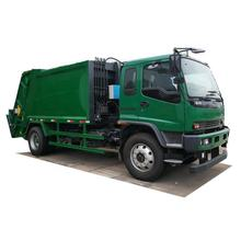 Janpan brand 14cbm 14m3 Garbage Compactor Truck for Waste Collection