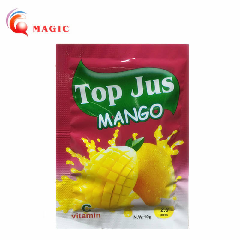 instant fruit flavored Concentrate juice drink powder 10g add 2 litres fruit juice drink factory