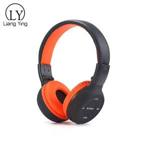 Portabel Lipat Wireless Stereo Bluetooth Headphone