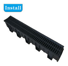 plastic  cover drain outdoor drainage channel