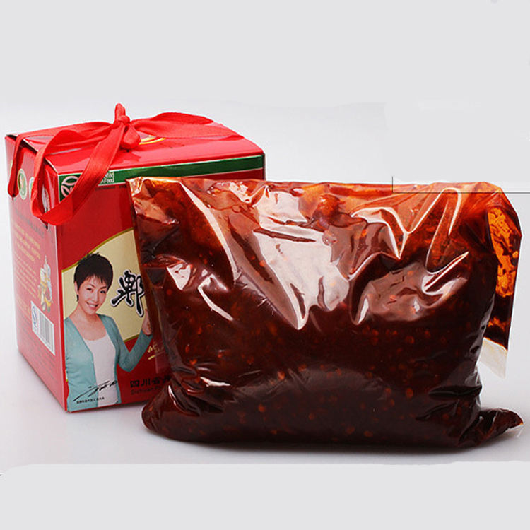 2.5kg Customizable Black Bean Sauce Pepper Chili Paste For Cooking Chinese Food