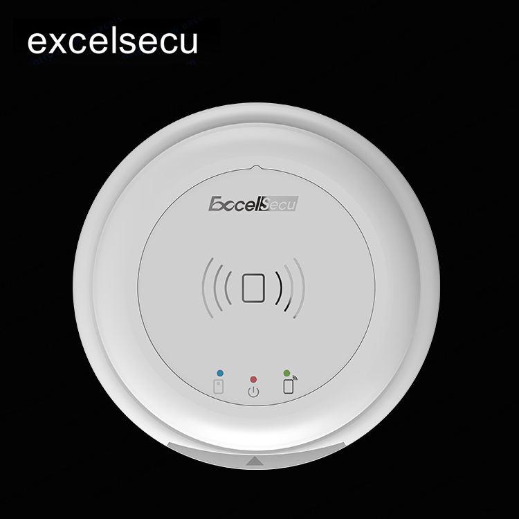 Vendita Calda doppia interfaccia ESECU ufo <span class=keywords><strong>bluetooth</strong></span> smart rfid reader carta <span class=keywords><strong>di</strong></span> credito