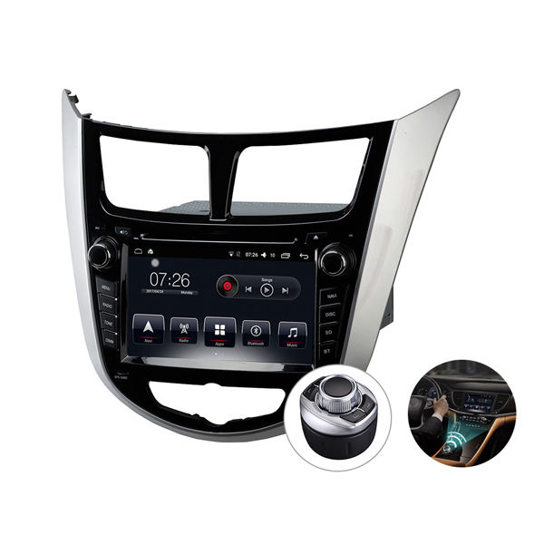 car usb mp3 music player car audio system stereo video car dvd gps navigation touch screen player for Hyundai Verna 2010-2013