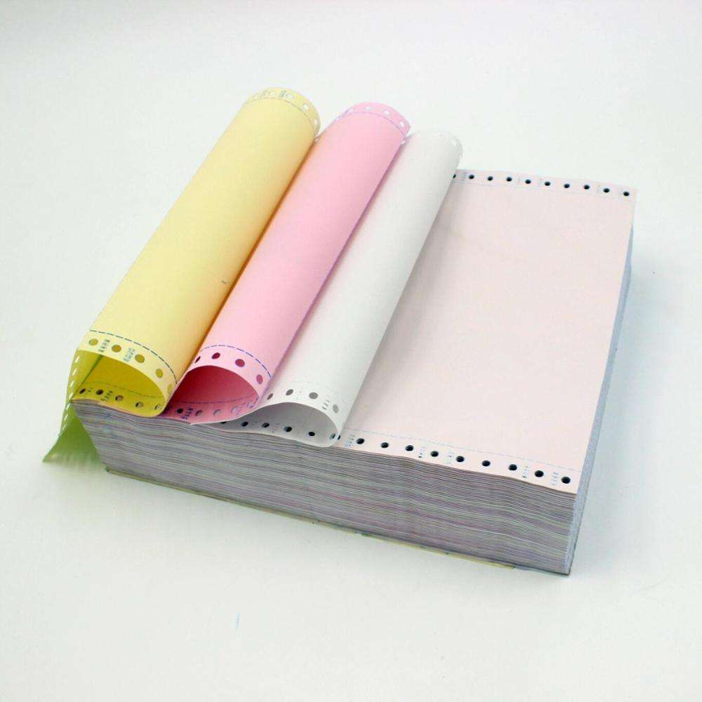 factory price High Quality multilayer carbonless continuous computer paper