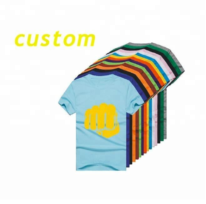 Factory direct custom cut and sew custom logo promotion t shirts kids men women