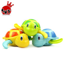 Popular Turtle Bath Toys Wind Up Diver Bath Toy Swimming Floating Turtle Swim and Crawl Wind Up Toys Pool Bath for Kids