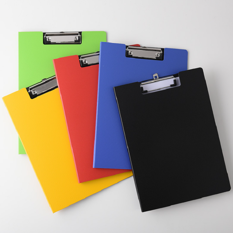 High quality a4 size PP foam clip file folder