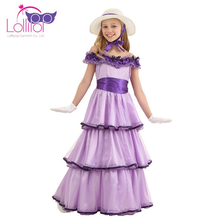 OEM bienvenue costume carnaval enfants deluxe southern belle halloween déguisements idées de costumes pour filles