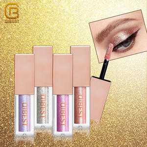 Multi 15 Colors Diamond Cosmetic Eye Shadow Private Label Liquid Glitter Eyeshadow