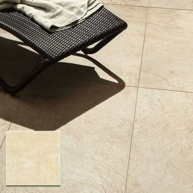 garden non-slip rough porcelain texterior tile matt finish kerala homogeneous beige rustic anti-slip outdoor floor tiles
