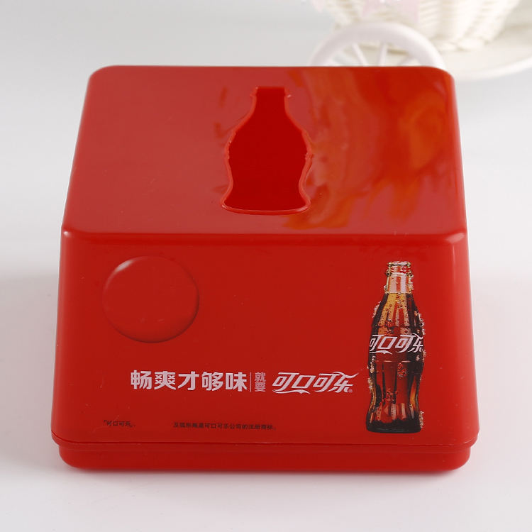 pla custom printed christmas napkin holders tissue paper boxes packaging beads tissue boxes