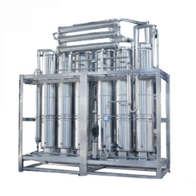 Internal spiral multi-effect distilled water machine industrial distilled water equipment supplier
