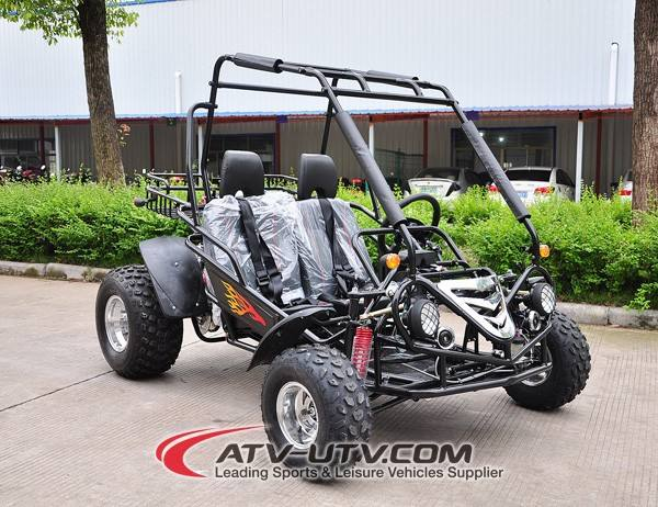new china 150cc cheap two seat go kart dune buggy suspension