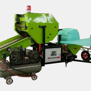 Cheap New Fully automatic silage baler, Film Wrapping machine