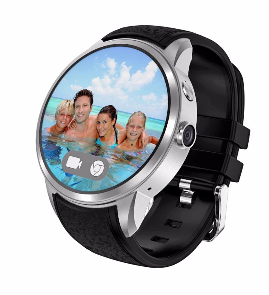 HIDON 1.39''touch screen Android OS Smart Watch Built-in 3G WCDMA smartwatch IP67 Waterproof