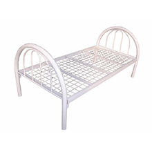 Cheap Doha Market Steel Cot Single Bed For Sale Y