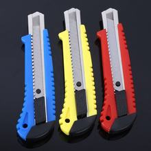 Paper Cutter Large Size Utility Knife Auto-lock Paper Cutter with Spare Blade School and Office Stationery Tools