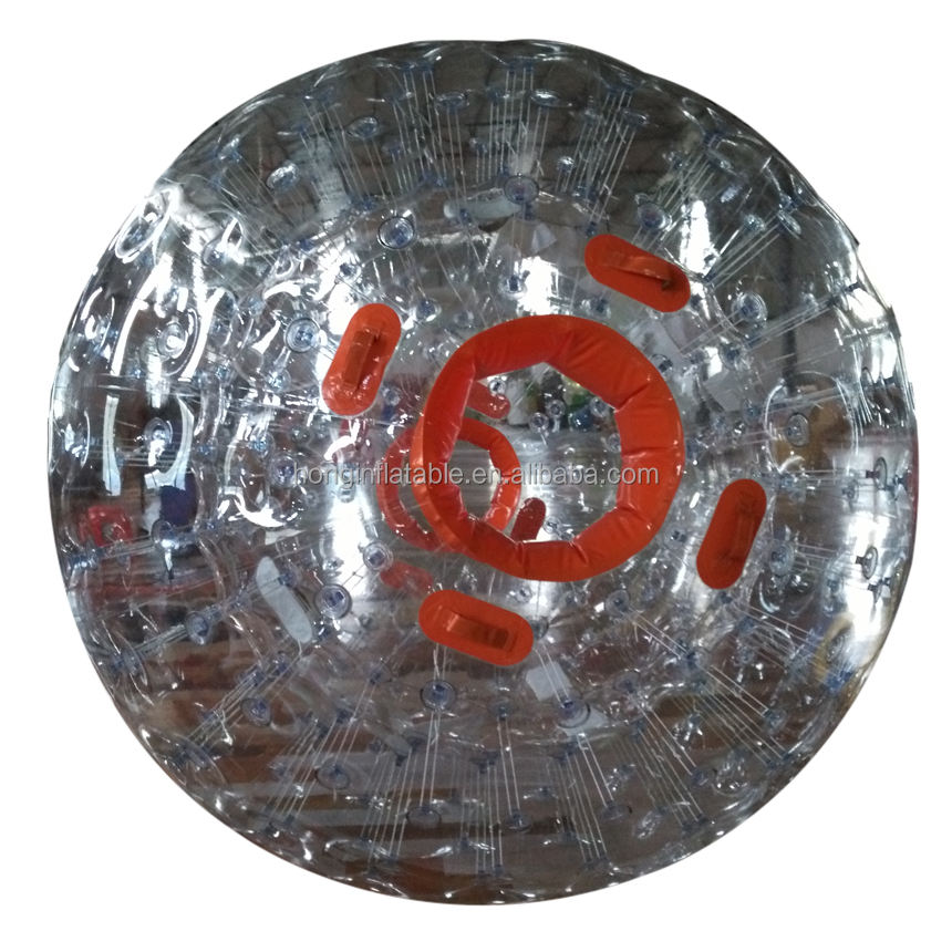 Hot Selling Populaire Sport Game Zorbing Water Bal, Giant Opblaasbare Bal