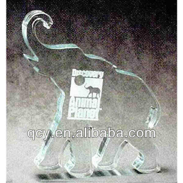 Customized decorate table acrylic trophy products with pictures