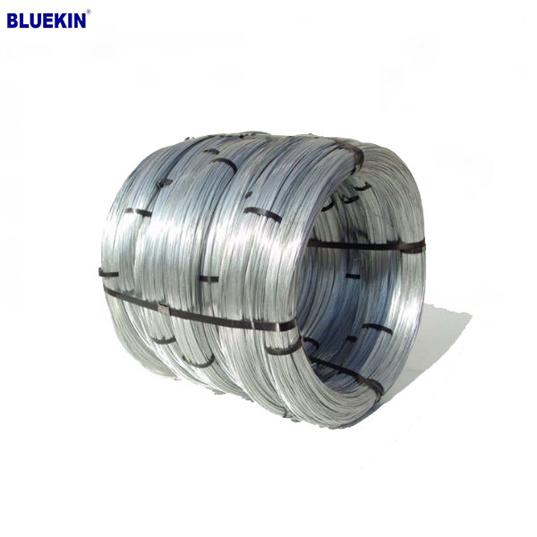 Made in China Flat Binding Wire Galvanized Iron Wire