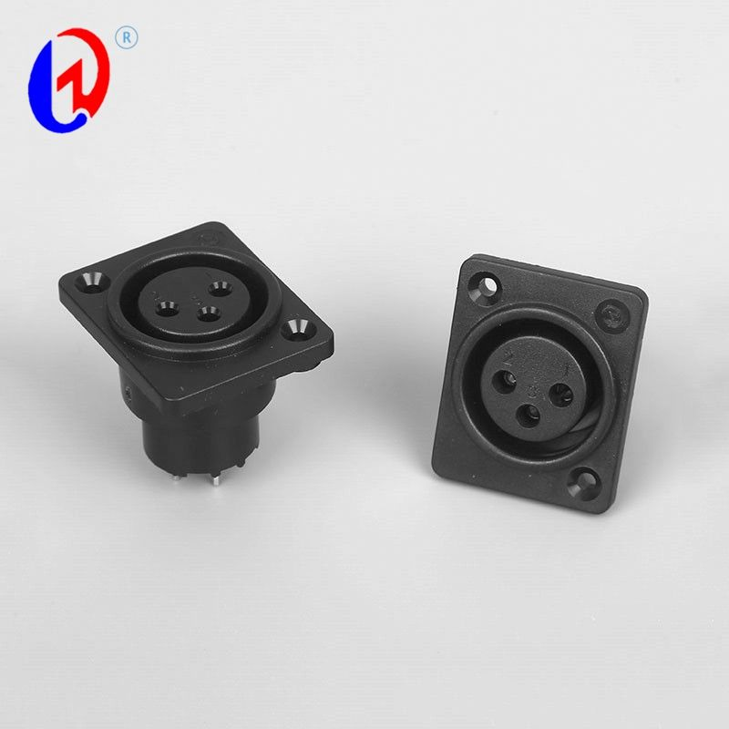 sound connector MIC Speaker Terminal Board Audio Female DMX jack connector XLR 3 Pin connector