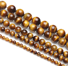 2020 Wholesale manufacturer genuine high quality natural 8mm gemstone bead tiger eye stone loose bead