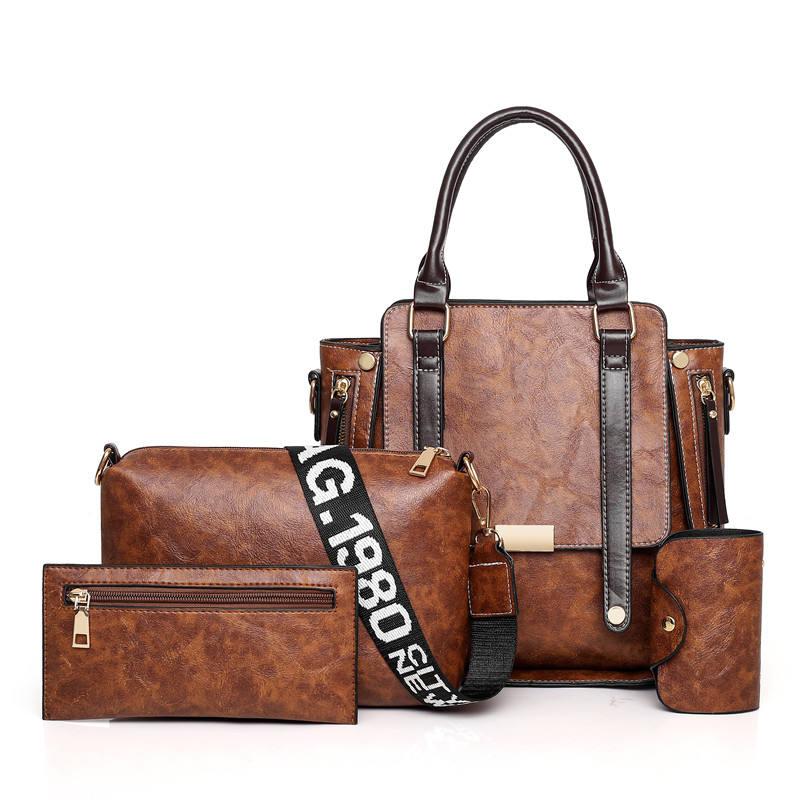 Achats en ligne de haute qualité de mode dames en cuir sacs à main marque internationale corée pakistan