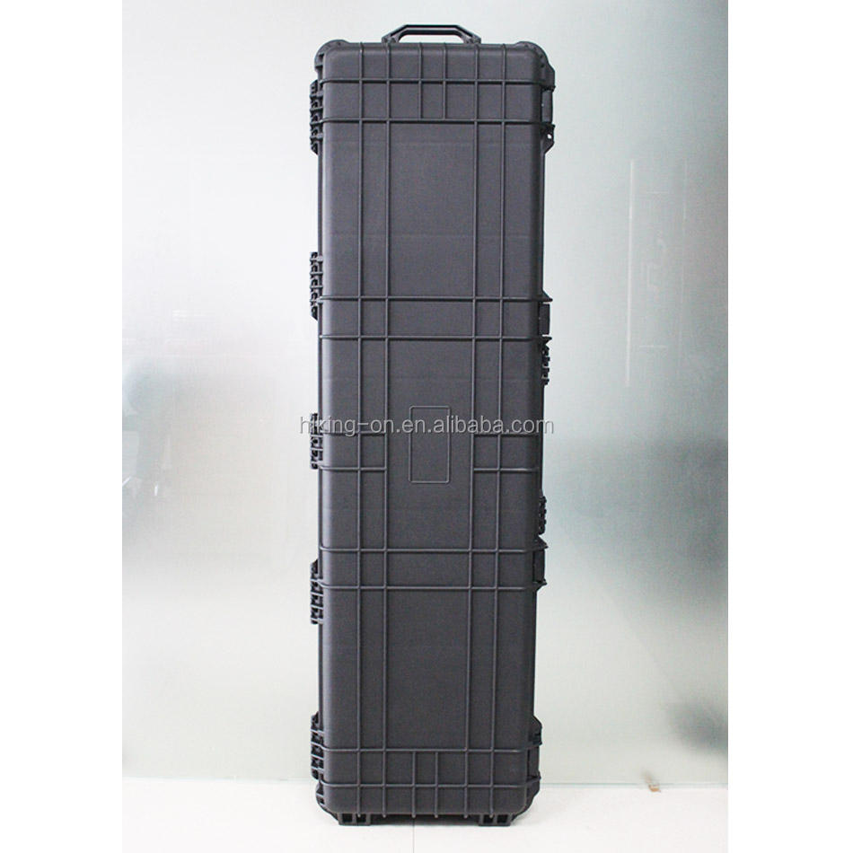 OEM & ODM crushproof waterdichte hard plastic rifle gun case/Plastic Militaire Case HTC034-1