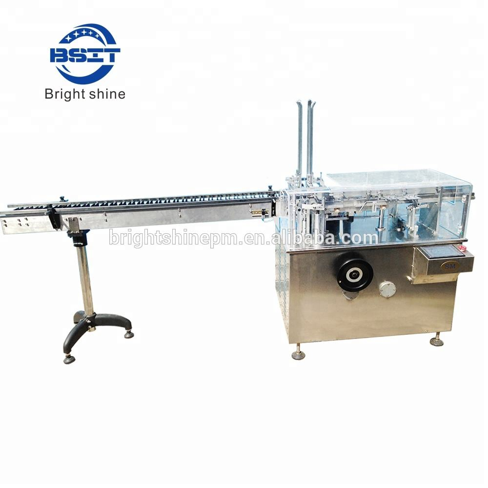 380V vial bottle automatic cartoning machine with fold leaflet