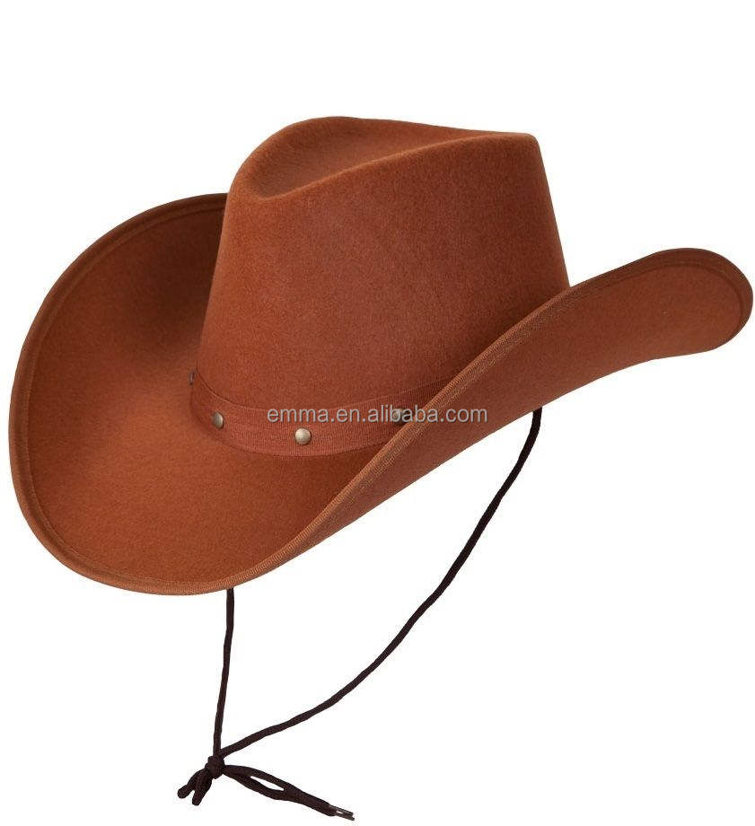 lemmy Cowboy Hat Western Rodeo Fancy Dress Accessory Brown Black White jb manuney Hats SC2011