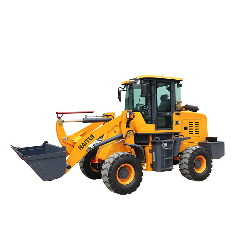 Good price 1.2 ton mini front end wheel loader with good quality for sale