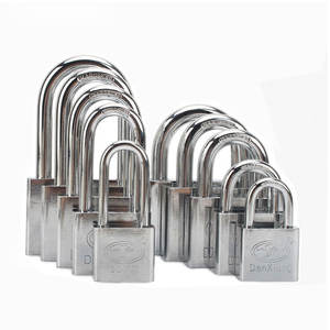 Wholesale security iron heavy duty door lock small safety padlock with master key