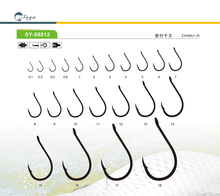 High carbon steel SY-08012 EYE  japan fishing hooks for wholesale