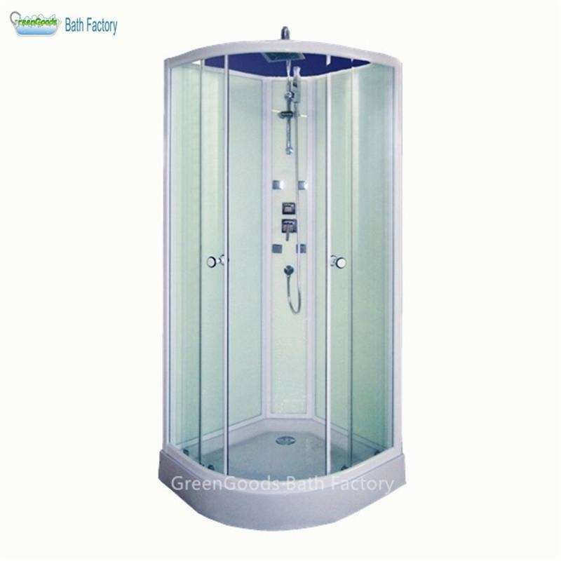 Complete Whole Free Standing Corner Shower Room