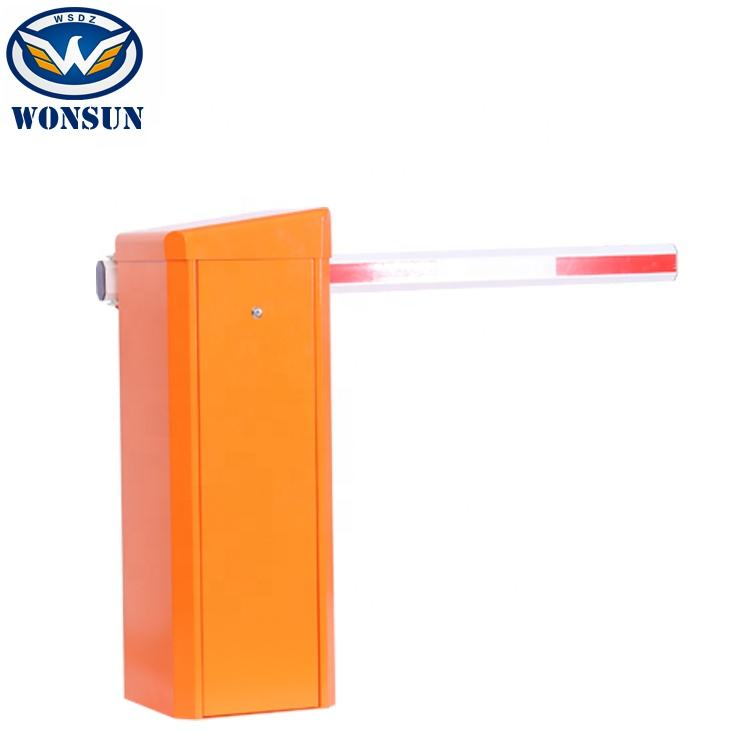0.6s High Speed Toll Gate Barriers PMSM Servo Motor Automatic Price Barrier Remote Control Parking Barrier