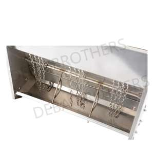 New Designed Double Side Pig Feeder cheap price hog feeder