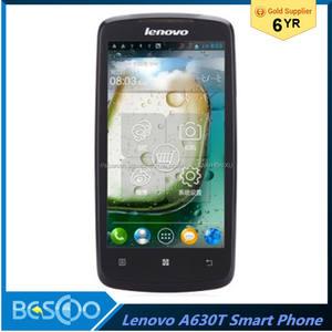 Nueva Lenovo A630T Smartphone Android 4.0 MTK6577 Dual Core 4.5 Pulgadas 3G teléfono móvil alibaba china