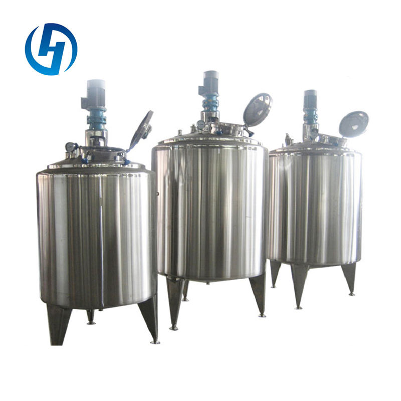 Stainless steel Vertical cooling tank Milk fermenter