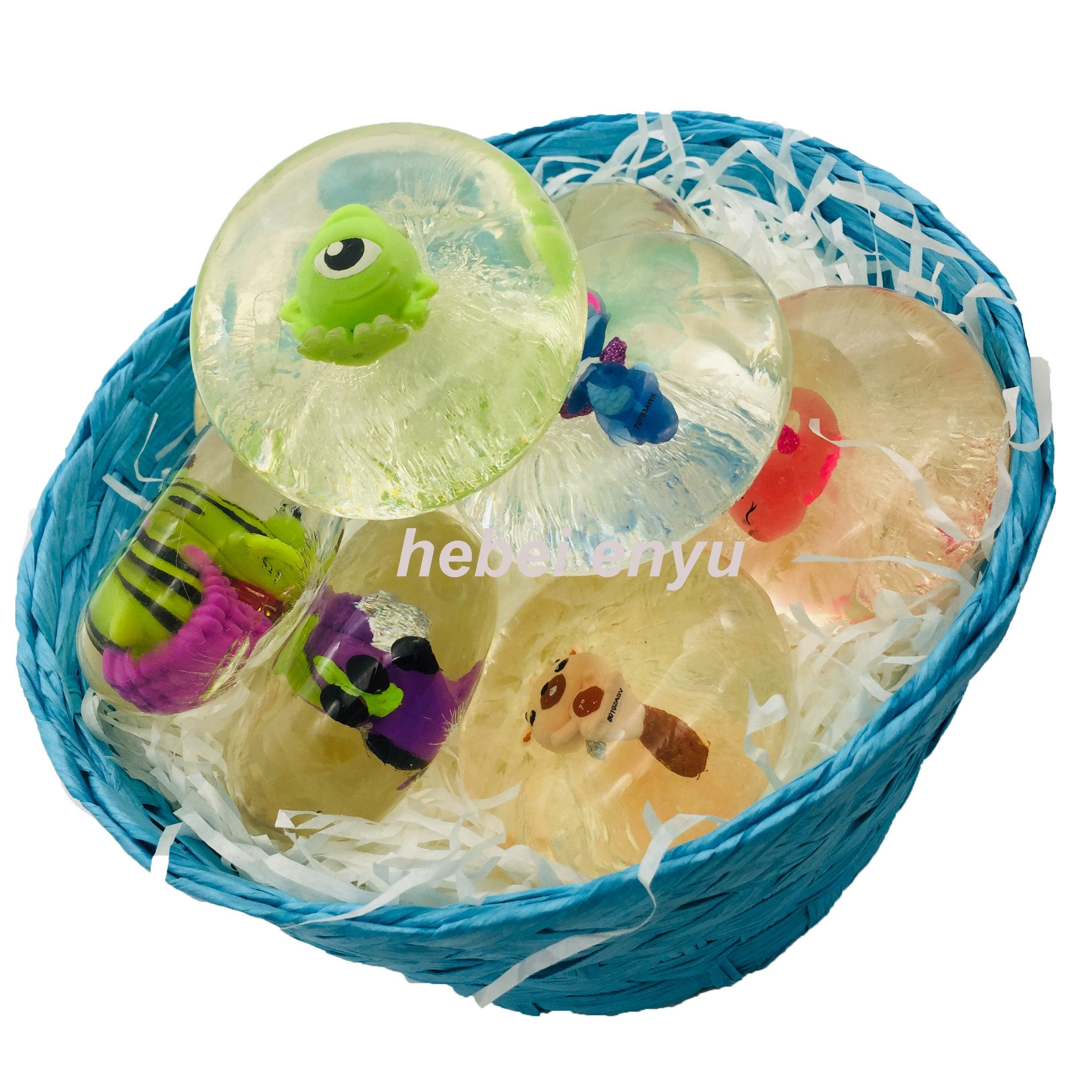 Glycerin soap with toys in it