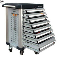 400pcs garage tool set with 8 drawers tool trolley for auto flexibly fixing