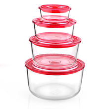 Good Quality High Borosilicate Glass Meal Prep Removable Lid Lock Food Storage Container