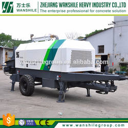 wanshile Creative design lowest price mobile zoomlion concrete pump