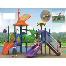 Outdoor Plastic Playground System for Kids Entertainment and Play