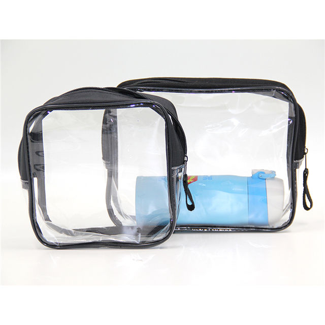 도매 professional custom small clear pvc 메이 컵 화장품 case bag