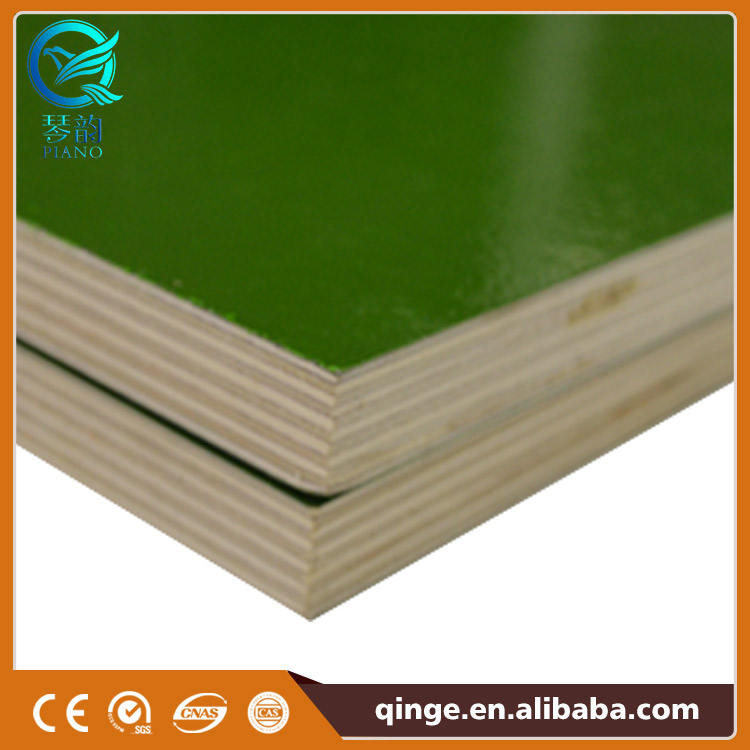 Phenolic Plywood Suppliers 610x2440mm 3 Ply PP Plastic Phenolic Film Faced Formwork Plywood