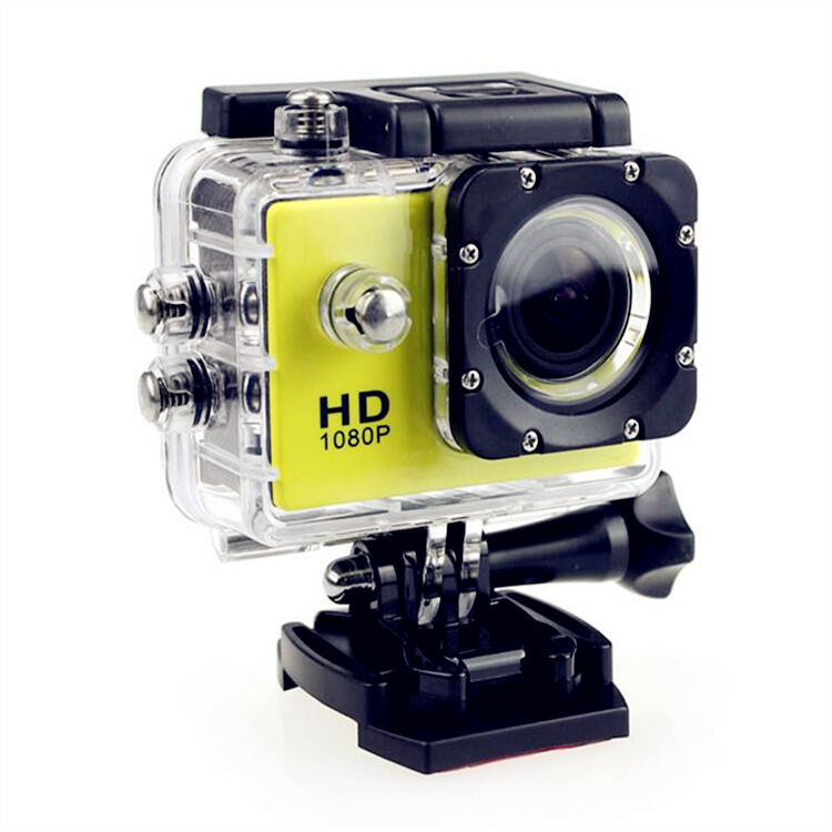 Outdoor Mini Action Camera Tahan Air Full HD 1080P Olahraga DV Kamera Video